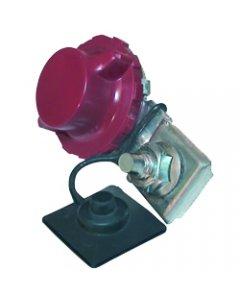 Robinet coupe-batterie à griffe rouge (+)