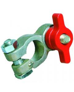 Robinet coupe-batterie en plastique rouge (+)