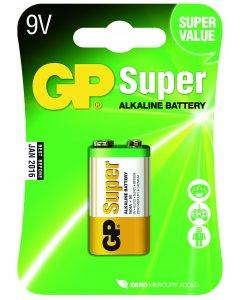 Blister de 1 pile Alcaline SUPER 9V