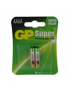 Blister de 2 piles Alcalines SUPER AAAA,LR61