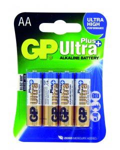 Blister de 4 piles Alcalines ULTRA PLUS AA,LR06