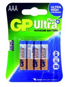 Blister de 4 piles Alcalines ULTRA PLUS AAA,LR03