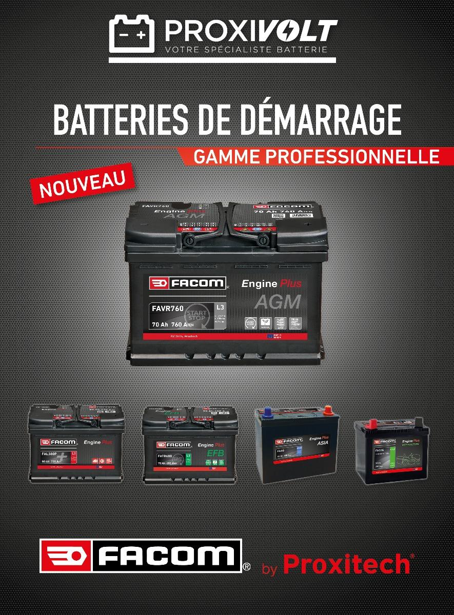 Lancement batteries FACOM